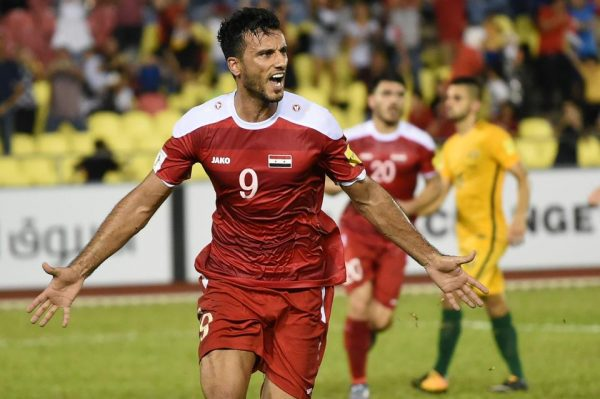 image-Omar Al Somah - Qasioun Eagles - Kept the Dream Alive - Russia 2018