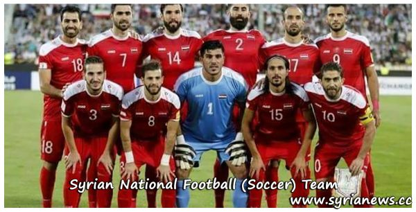 image-Syrian National Football Soccer Team - Qasioun Eagles