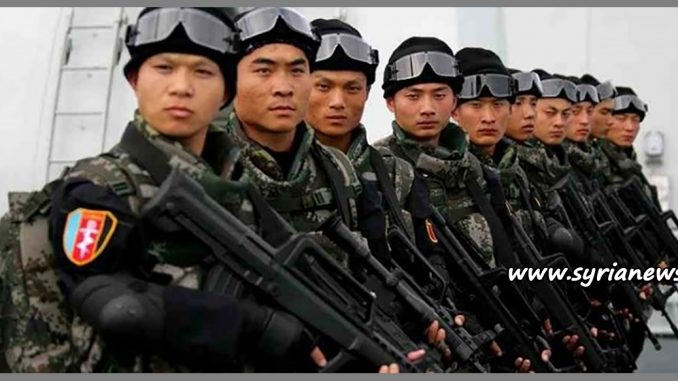 image-Chinese Night Tigers Special Forces in Syria