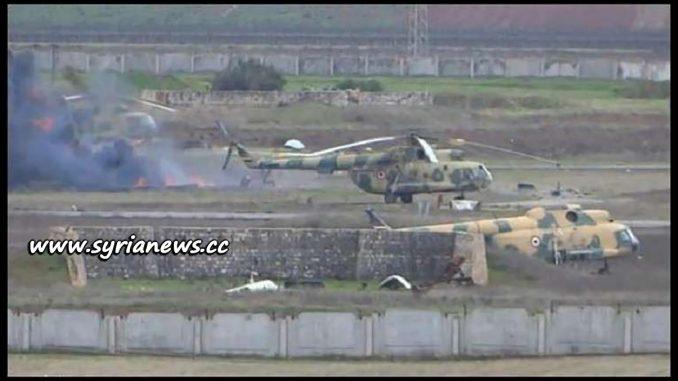 SAA Advances near Abu Dhohour Military Airport - Idlib