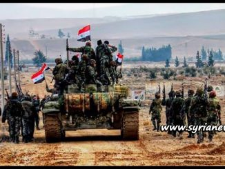 SAA Soldiers with Tank