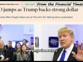image-Trump Backs Strong Dollar