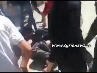 Hajar Aswad Residents Capture ISIS Terrorist Alive