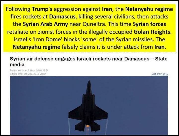 image-SAA Retaliates to Israeli Aggression Western MSM Claim Iranian Aggression against Israel