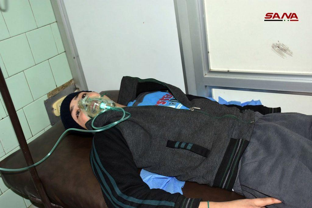 Civilian Casualties of Terrorist Bombing of Aleppo Residential Neighborhoods
