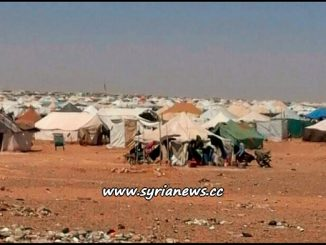 Rukban Concentration Camp for Syrian Displaced Refugees - al Tanf