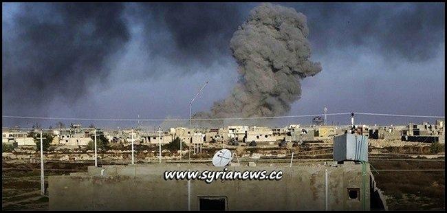 US-Led Coalition Latest Massacre against Civilians in Der Ezzor