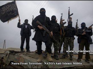 Nusra Front Terrorists - NATO anti-Islamic Militia - Syria إرهابيي جبهة النصرة - ميليشيا حلف الناتو المعادية للإسلام - Damascus - Aleppo - Hama - Lattakia - Idlib