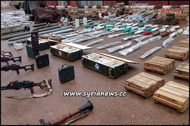 Drone and Western Made Weapons Found in Daraa