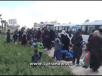 Displaced Syrians Returning from Refugee Camps in Jordan