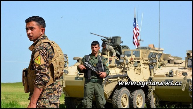 Kurdish SDF separtist militia a tool in the hands of the USA and Israel