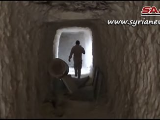 SAA Units Discover a 20 Meters Depth Tunnel in Qalaat Al-Madiq - Hama Countryside