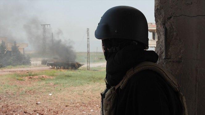 Sky News Crew with Al Qaeda in Idlib