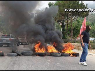 Mini civil war in Lebanon