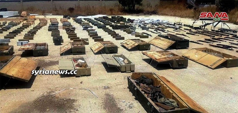 Authorities Confiscate Large Stash of Weapons and Munition Heading to Idlib